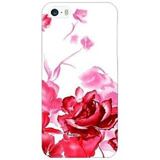 Jugaaduu Floral Pattern Back Cover Case For Apple iPhone 5 - J21410