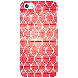 Jugaaduu Morocco Pattern Back Cover Case For Apple iPhone 5 - J21411
