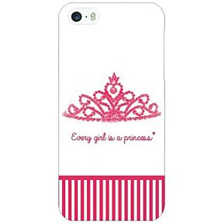 Jugaaduu Princess Back Cover Case For Apple iPhone 5 - J21421
