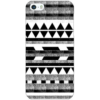 Jugaaduu Aztec Girly Tribal Back Cover Case For Apple iPhone 5 - J20069