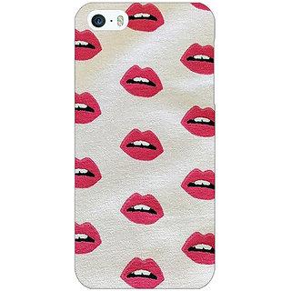 Jugaaduu Kiss Back Cover Case For Apple iPhone 5 - J20099