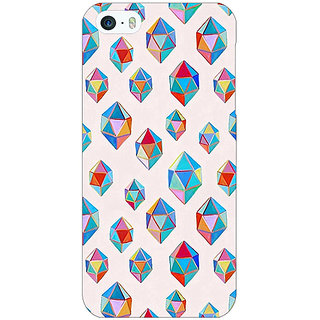 Jugaaduu Diamonds of Dreams Pattern Back Cover Case For Apple iPhone 5c - J30251