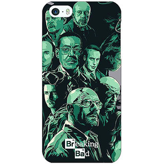 Jugaaduu Breaking Bad Heisenberg Back Cover Case For Apple iPhone 5 - J20401