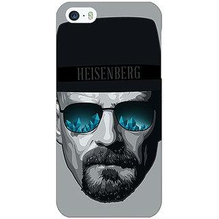 Jugaaduu Breaking Bad Heisenberg Back Cover Case For Apple iPhone 5 - J20413