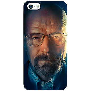 Jugaaduu Breaking Bad Heisenberg Back Cover Case For Apple iPhone 5 - J20417