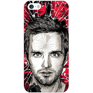Jugaaduu Breaking Bad Back Cover Case For Apple iPhone 5 - J20425