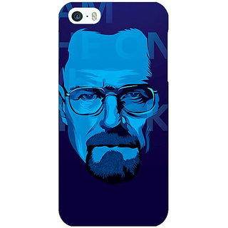Jugaaduu Breaking Bad Heisenberg Back Cover Case For Apple iPhone 5 - J20431