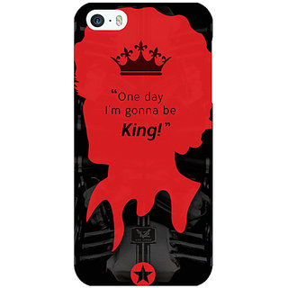 Jugaaduu Entourage Vince Back Cover Case For Apple iPhone 5 - J20435