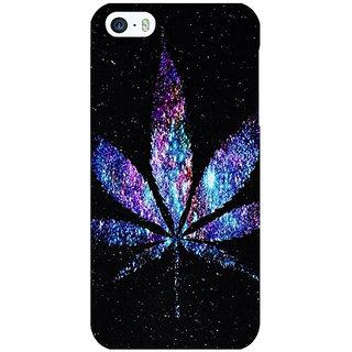 Jugaaduu Weed Marijuana Back Cover Case For Apple iPhone 5c - J30494
