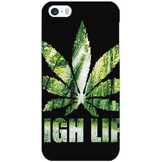 Jugaaduu Weed Marijuana Back Cover Case For Apple iPhone 5c - J30496