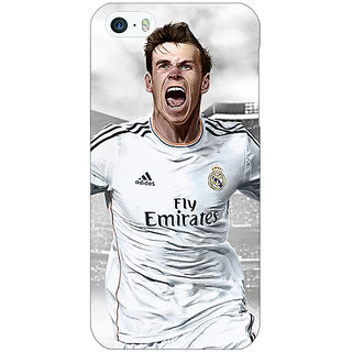 Jugaaduu Real Madrid Bale Back Cover Case For Apple iPhone 5 - J20583