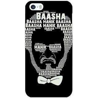 Jugaaduu Rajni Rajanikant Back Cover Case For Apple iPhone 5 - J21494