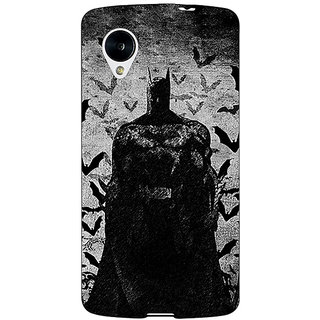 Jugaaduu Superheroes Batman Dark knight Back Cover Case For Google Nexus 5 - J40008