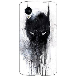 Jugaaduu Superheroes Batman Dark knight Back Cover Case For Google Nexus 5 - J40019