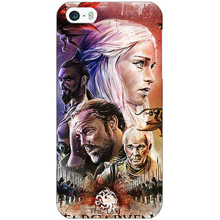 Jugaaduu Game Of Thrones GOT House Targaryen  Back Cover Case For Apple iPhone 5 - J20139