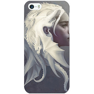Jugaaduu Game Of Thrones GOT House Targaryen  Back Cover Case For Apple iPhone 5 - J20141