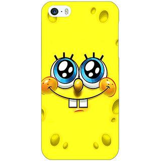 Jugaaduu Spongebob Back Cover Case For Apple iPhone 5 - J20464