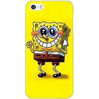 Jugaaduu Spongebob Back Cover Case For Apple iPhone 5 - J20470