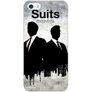 Jugaaduu SUITS Harvey Spector Back Cover Case For Apple iPhone 5 - J20478