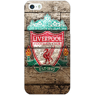 Jugaaduu Liverpool Back Cover Case For Apple iPhone 5c - J30548