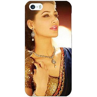 Jugaaduu Bollywood Superstar Nargis Fakhri Back Cover Case For Apple iPhone 5c - J30997