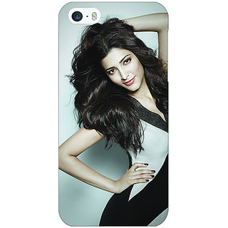 Jugaaduu Bollywood Superstar Shruti Hassan Back Cover Case For Apple iPhone 5c - J31015