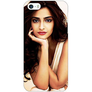 Jugaaduu Bollywood Superstar Sonam Kapoor Back Cover Case For Apple iPhone 5c - J31016