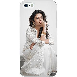 Jugaaduu Bollywood Superstar Alia Bhatt Back Cover Case For Apple iPhone 5c - J31025