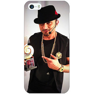 Jugaaduu Bollywood Superstar Honey Singh Back Cover Case For Apple iPhone 5 - J21180