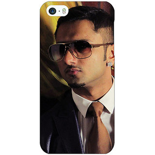 Jugaaduu Bollywood Superstar Honey Singh Back Cover Case For Apple iPhone 5 - J21184