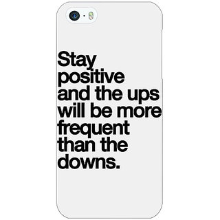 Jugaaduu Quotes Back Cover Case For Apple iPhone 5 - J21187