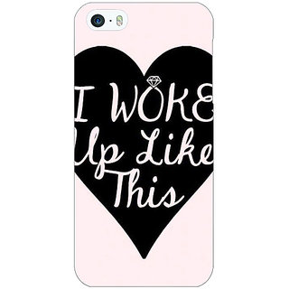 Jugaaduu Quotes Beautiful Back Cover Case For Apple iPhone 5 - J21189