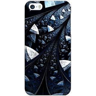 Jugaaduu Abstract Design Pattern Back Cover Case For Apple iPhone 5 - J21523