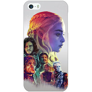 Jugaaduu Game Of Thrones GOT All Back Cover Case For Apple iPhone 5 - J21529