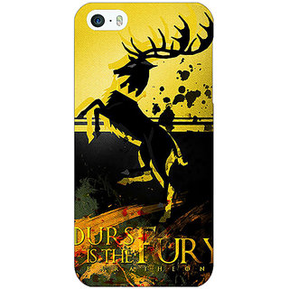 Jugaaduu Game Of Thrones GOT Baratheon Back Cover Case For Apple iPhone 5 - J21530