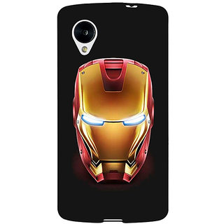 Jugaaduu Superheroes Ironman Back Cover Case For Google Nexus 5 - J40043