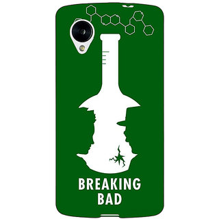 Jugaaduu Breaking Bad Heisenberg Back Cover Case For Google Nexus 5 - J40422