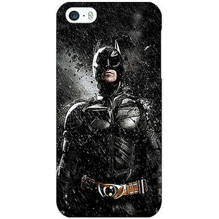 Jugaaduu Superheroes Batman Dark knight Back Cover Case For Apple iPhone 5c - J30016