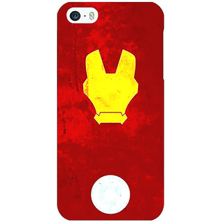 Jugaaduu Superheroes Ironman Back Cover Case For Apple iPhone 5c - J30021