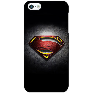 Jugaaduu Superheroes Superman Back Cover Case For Apple iPhone 5c - J30037