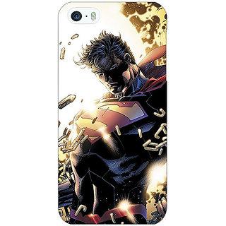 Jugaaduu Superheroes Superman Back Cover Case For Apple iPhone 5c - J30039