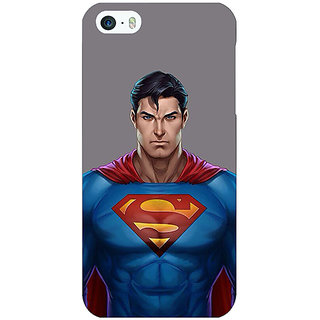Jugaaduu Superheroes Superman Back Cover Case For Apple iPhone 5c - J30382
