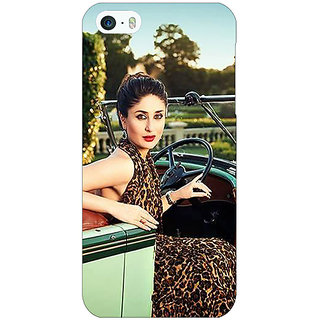 Jugaaduu Bollywood Superstar Kareena Kapoor Back Cover Case For Apple iPhone 5c - J31054