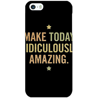 Jugaaduu Quotes Beautiful Back Cover Case For Apple iPhone 5c - J31192