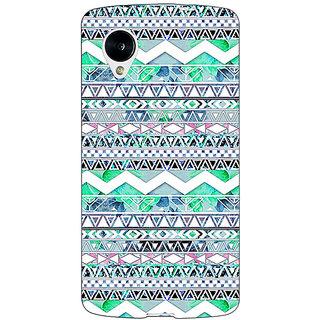Jugaaduu Aztec Girly Tribal Back Cover Case For Google Nexus 5 - J40100