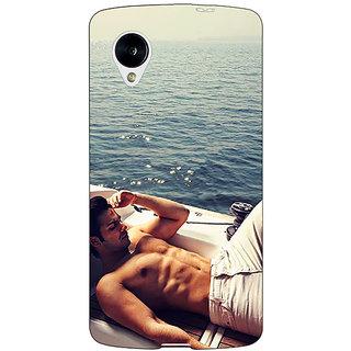 Jugaaduu Bollywood Superstar Varun Dhawan Back Cover Case For Google Nexus 5 - J40931