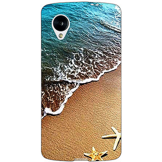 Jugaaduu Summer Beach Back Cover Case For Google Nexus 5 - J41139