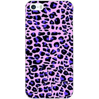 Jugaaduu Cheetah Leopard Print Back Cover Case For Apple iPhone 5c - J30079