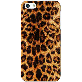 Jugaaduu Cheetah Leopard Print Back Cover Case For Apple iPhone 5c - J30080