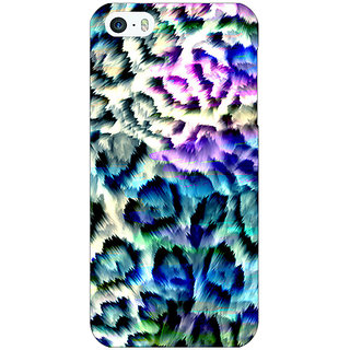 Jugaaduu Cheetah Leopard Print Back Cover Case For Apple iPhone 5c - J30081